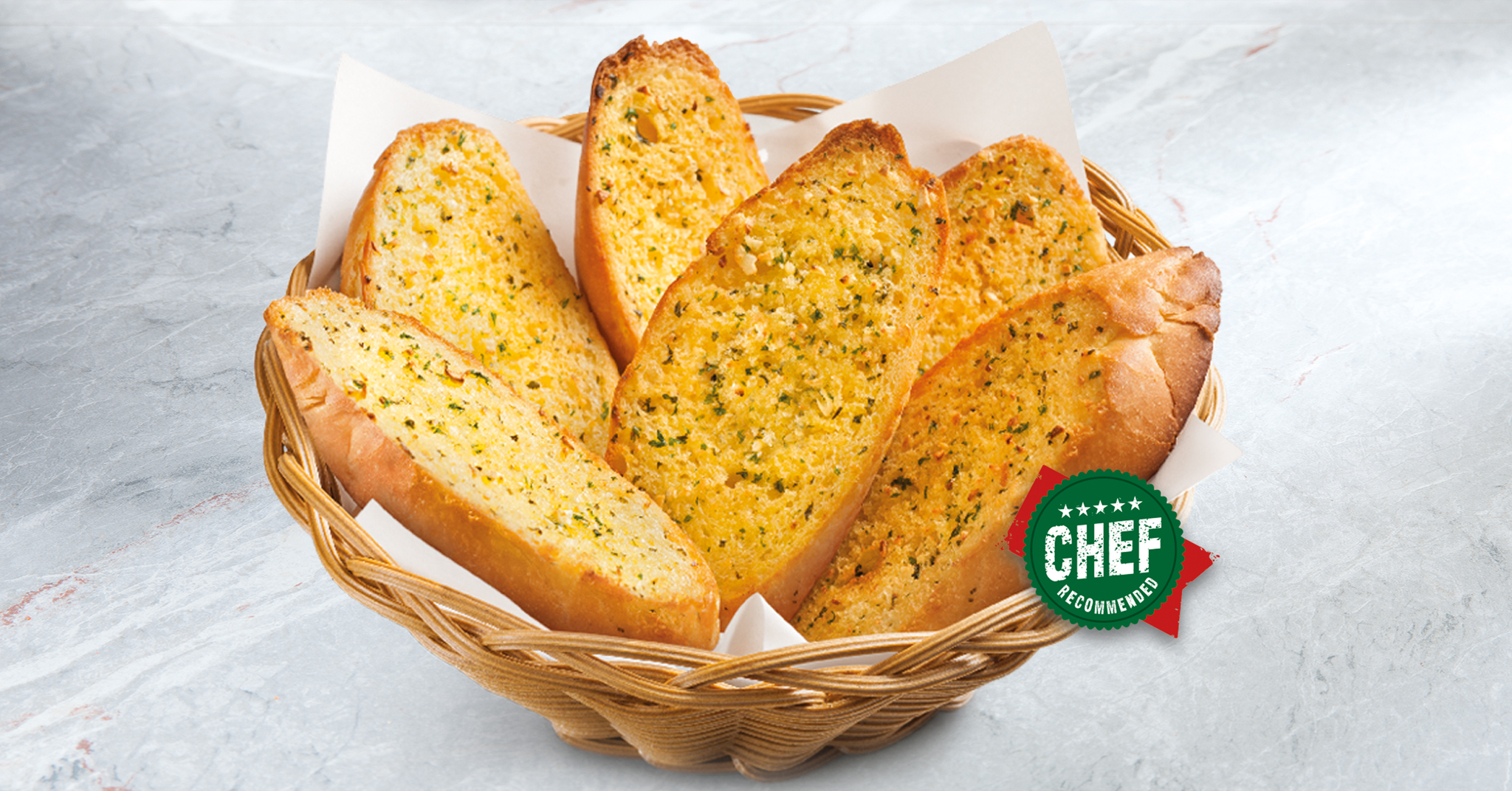 Cheese Garlic Bread Image