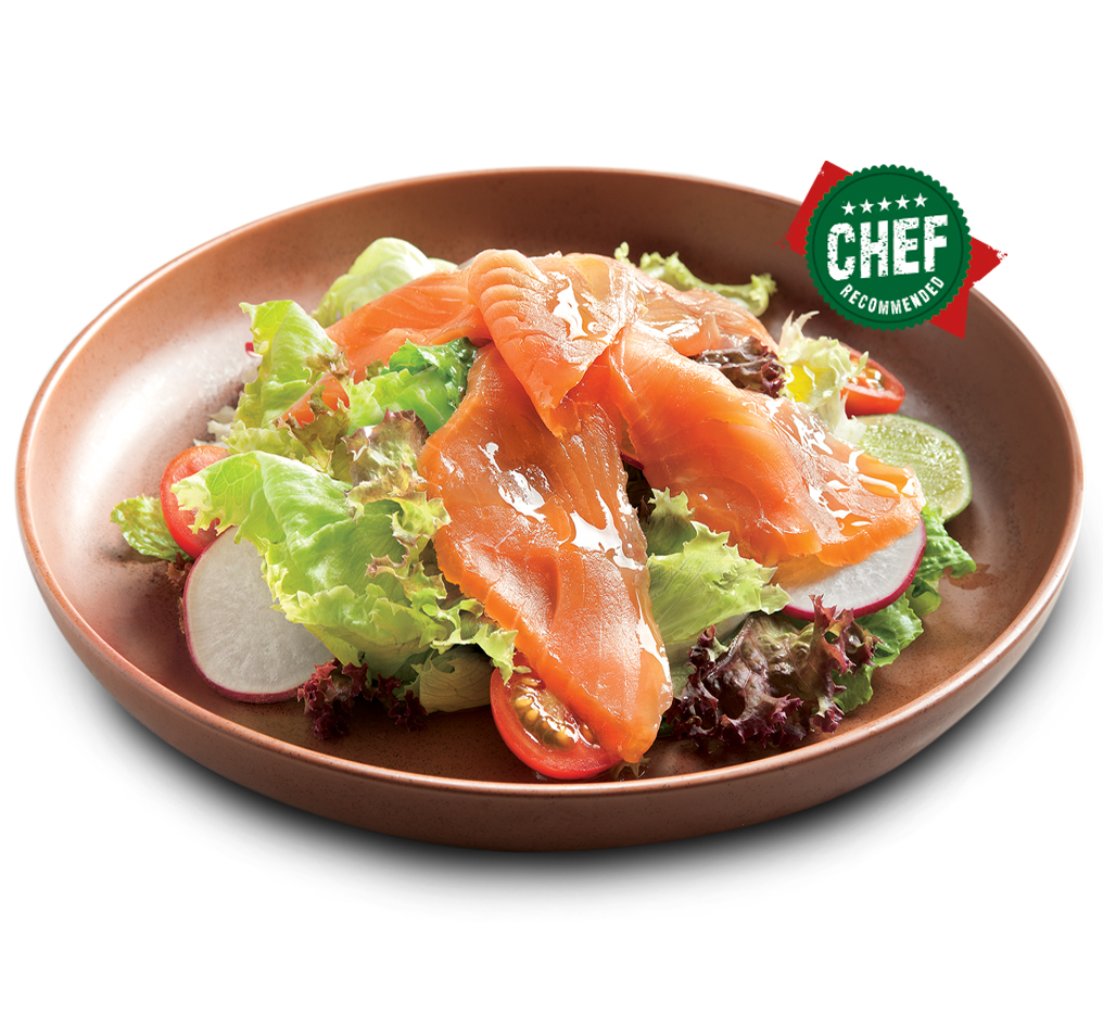 Smoked Salmon Salad Image