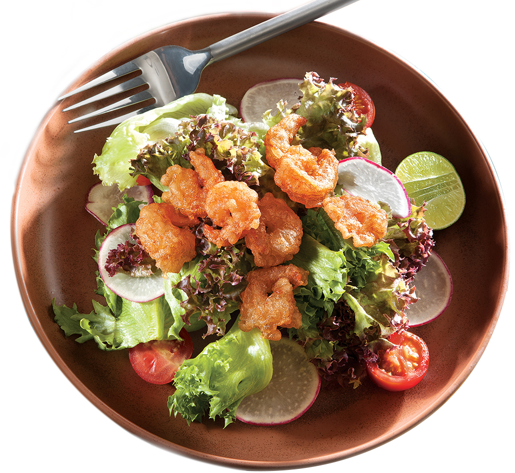 Crispy Shrimp Salad Image